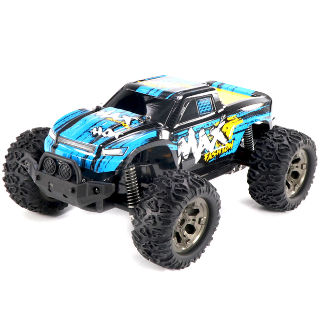 1:12 Scale 2.4G Pistol Transmitter Off-Road 2 WD RC Car 25km/H Cross Country Vehicle RTR 4-Channels Remote Control Toys RC Car