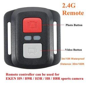 Image 3 - 3 m/10ft wodoodporny bezprzewodowy 2.4G zdalnie sterowana okiennica dla EKEN H9R H8R H6S H7S H5SPLUS Sport kamera akcji DV kontroler