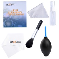 7in1 Professional Camera Cleaning Kit Air Blower Cleaner Lens Brush Lens Tissue Paper Air Blower For