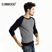 Brand Men Sweater 2016 New arrival Autumn Winter O-neck Slim Casual Striped Knitted Sweater Men Pull Homme Plus Size MY366