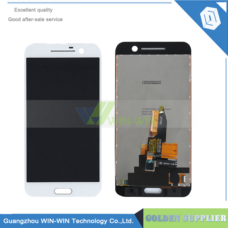 White/Black LCD For HTC 10 One M10 LCD Display With Touch Screen with Digitizer Full Assembly Repalcement Parts Free Shipping lcd screen display touch panel digitizer for htc bolt for htc 10 evo white or black color free shipping