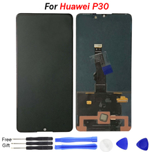 Original p30 screen replace For Huawei P30 LCD Display with Touch Screen Digitizer Assembly LCD Screen For huawei p30 display original a1534 lcd screen display assembly for macbook 12 a1534 2015 2016 a1534 lcd screen display assembly gray color