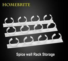 Wall Storage Plastic Kitchen Organizer Rack