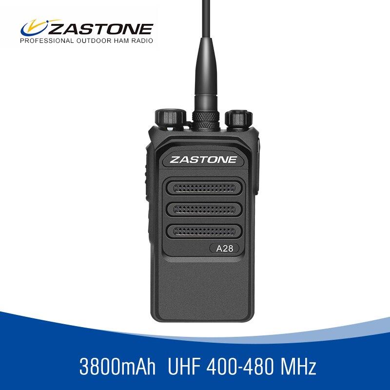 bilder für Zastone 10 Watt Leistungsstarke Walkie Talkies ZT-A28 CB Radio Portable Two Way Radio FM Radio Transceiver Long Range Walkie Talkie 10 km