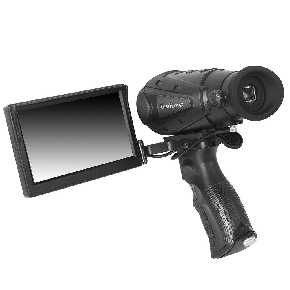 Portée d'imagerie thermique multifonctionnelle tenue dans la main de haute définition IP66 étanche monoculaire de Vision nocturne de caméra d'imageur infrarouge