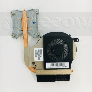 original free shipping heatsink and FAN for hp G62 G72 G72T CQ72 606013-001 For Intel integrated CPU Cooling module(China)