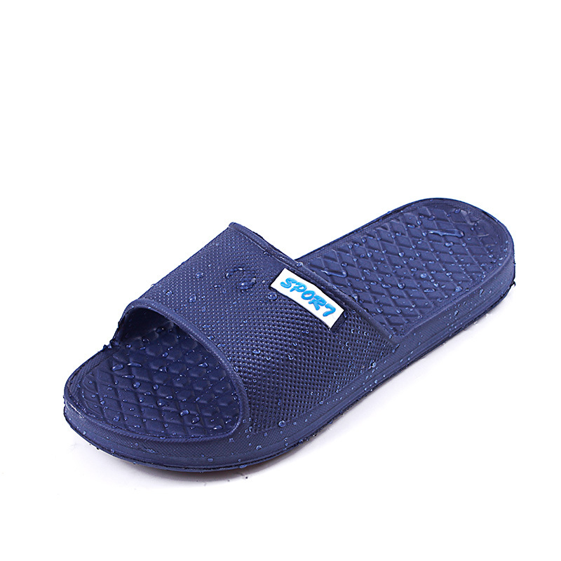 05efcef1ee42b Men home bathroom slippers waterproof sandals and slippers beach holiday  summer mules-in Slippers from Shoes on Aliexpress.com
