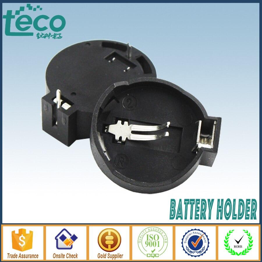 50PCS CR2025 CR2032 3V Button Coin Cell Battery Holder Socket Box Case ROHS