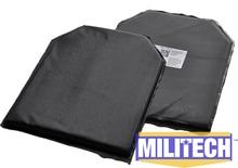 "Bulletproof Aramid Ballistic Panel Bullet Proof Plate Inserts Body Armor Soft Armour NIJ Level IIIA 3A 10"" x 12"" SC Cut Pairs"