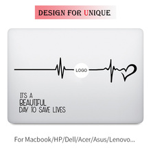 Grey's Anatomy Quote Laptop Sticker for Apple Macbook Decal Pro Air Retina 11 12 13 15 inch Vinyl Mac HP Mi Surface Book Skin цена и фото