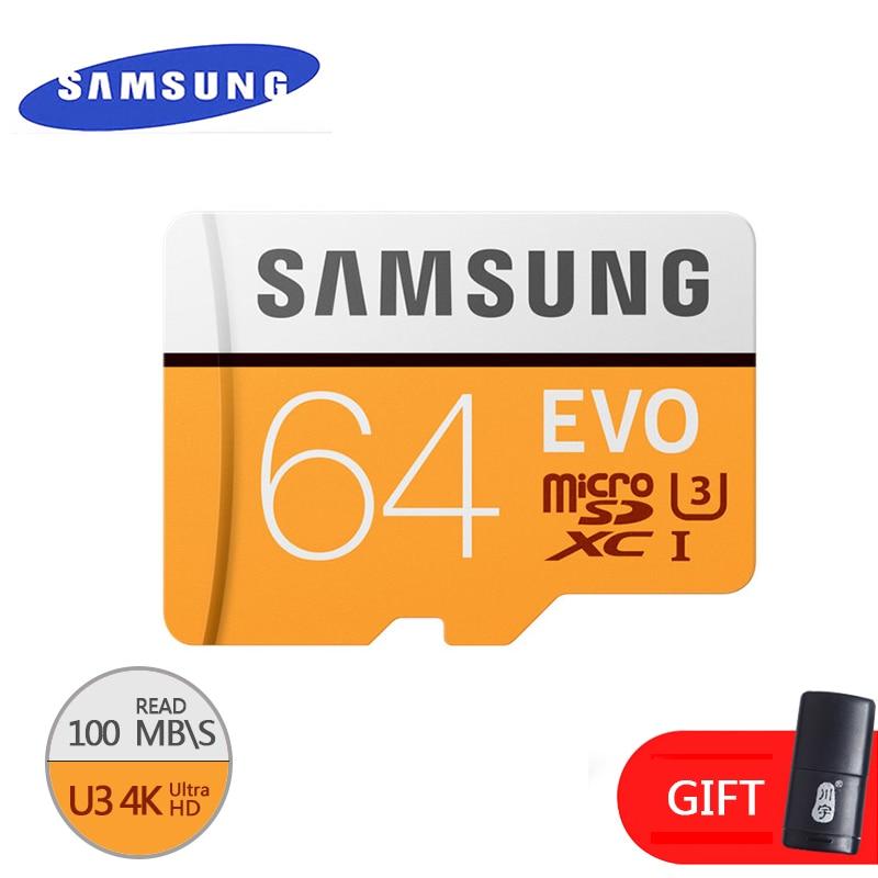 SAMSUNG Original Memory Micro Sd Card 16GB/32GB/SDHC 64GB/SDXC  Class10 EVO TF Card Flash Cards Genuine Security Free Shipping