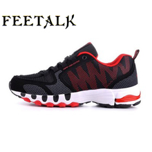 ФОТО  breathable running shoes for men 2017 summer sport shoes men trainers comfort sneakers men walking shoes zapatos hombre bigsize