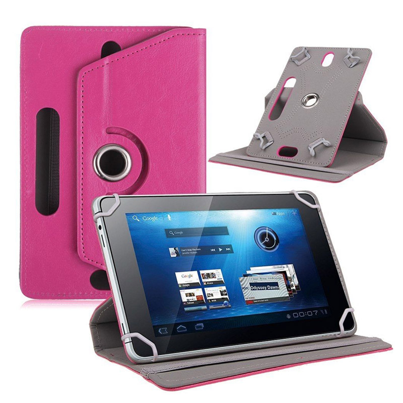 For Asus Memo Pad HD 7 Me173x Pu Leather Case For DEXP Ursus NS170 HIT QUAD 7 inch Universal tablet Stand Cover +Film