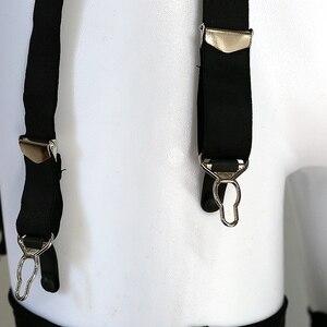 Image 5 - 6 kayış geniş eski askı kemer kadın artı boyutu siyah dantel Panel jartiyer kemer çorapları lenceria, gelin iç çamaşırı