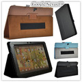Nexus 10 Leather Case Cover Stand For Google Nexus 10 inch Tablet Case with hand holder +screen protectors
