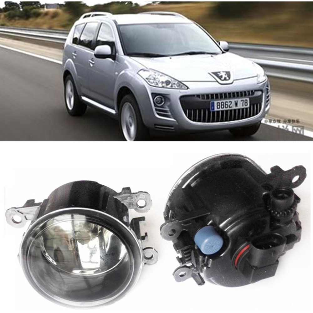 For Peugeot 4007 GP_  2007-2013 Car styling Fog Lamps halogen Fog lights 1SET