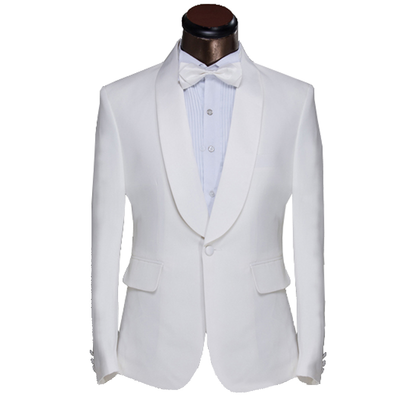 Mens Prom Tuxedo Suits With Pants and Ties Fashion Groom Wedding Suits For Men 2016 New Custom Men Suits Plus Size S~6XL
