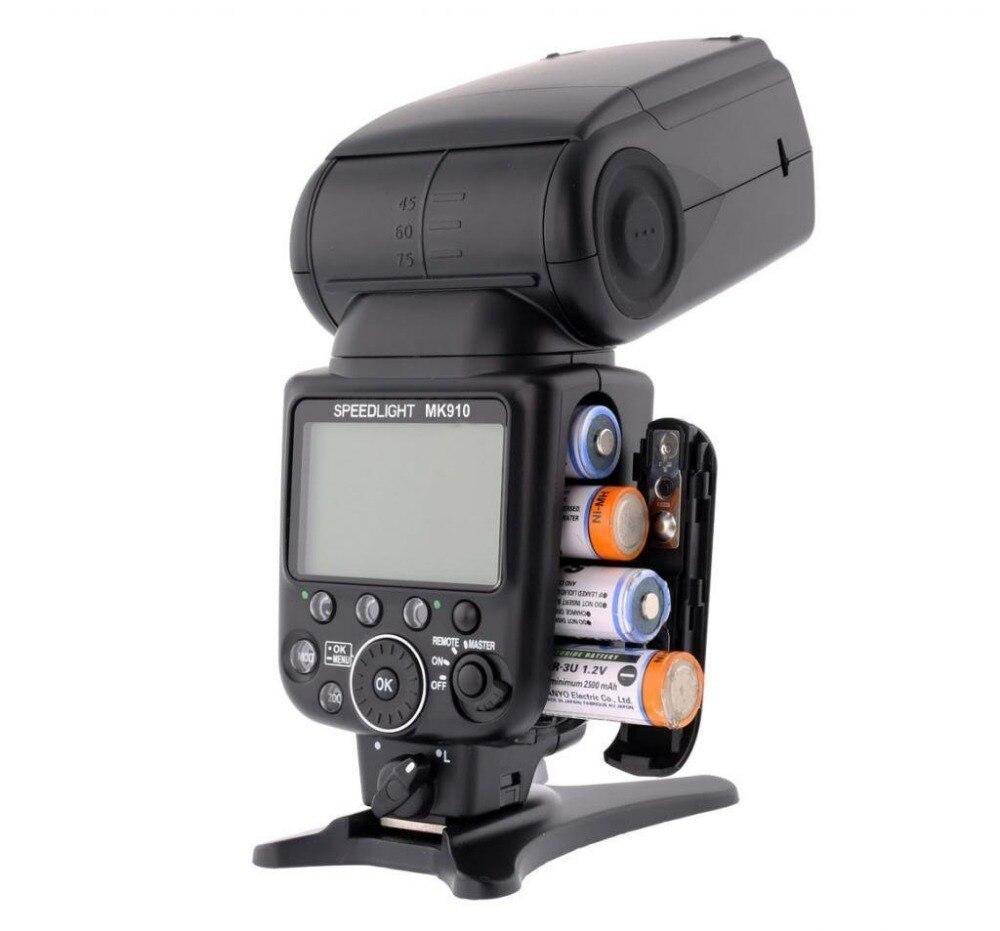 Meike MK-910 MK910 TTL 1 / 8000s HSS Sync Master y Slave flash de - Cámara y foto - foto 4