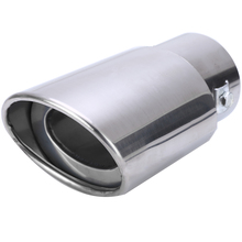 NEW 1pcs Car Exhaust Tail Pipe Universal For Rear Round Stainless Steel Muffler