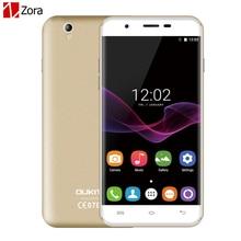 Оригинал OUKITEL U7 МАКС 3 Г Мобильные Телефоны Android 6.0 1 ГБ RAM 8 ГБ ROM Quad Core Dual SIM Смартфон 13.0MP 5.5 дюймов Сотовый Телефон FM