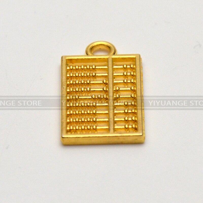 abacus golden pocket Abacus Bead arithmetics Metal Keychain ...