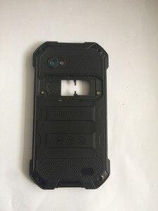 Image 3 - Nova blackview bv6000 bateria capa traseira escudo + alto falante para blackview bv6000s telefone smartphone + número de rastreamento