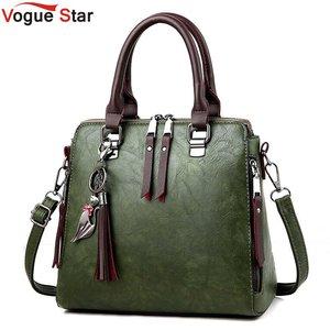 Image 1 - Sac à main en cuir PU pour femmes, sac de luxe à épaule de marque célèbre, sacoche à bandoulière de grande capacité, fourre tout décontracté LB753