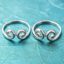 100 925 silver fashion cute Tight hoop Silver couple Rings exquisite Monkey King for Fans Women