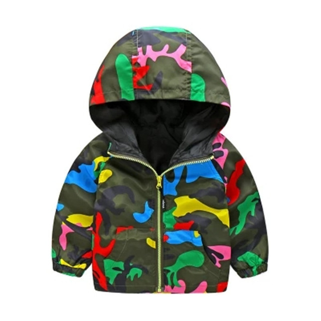 6fcbbf8527d8 Kids Toddler Boys Jacket Coat Hooded Jackets For Children Outerwear ...