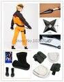 Free Shipping Uzumaki Naruto Cosplay Costume Whole Set
