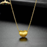 Jewelry 24K gold 3D/999% gold Necklace Color Necklace Wedding gifts HI00