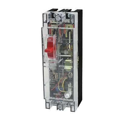 цена на 5000A Breaking Capacity 2 Poles Leakage Circuit Breaker AC 380V 100A