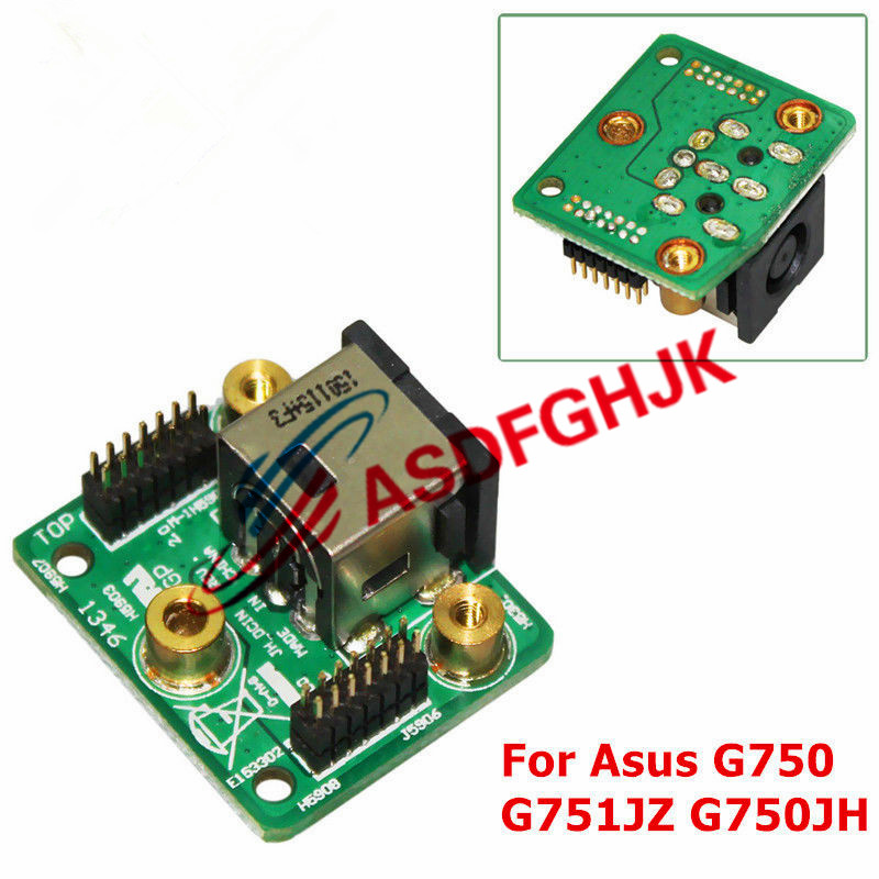 DC Power Jack Board FOR Asus ROG G750 G750JH G750JH DB72 CA G750JZ G751JT CH71 G751JZ