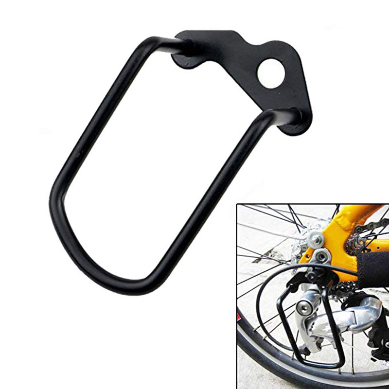 Mountain Bike Cycling Transmission Protection Bicycle Rear Derailleur Hanger Chain Gear Guard Protector Cover Iron Frame