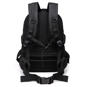 Image 4 - 2020 OZUKO Fashion Business Laptop Backpack Mens Multifunction Waterproof Oxford Travel Backpack Casual School Bag For Teenager