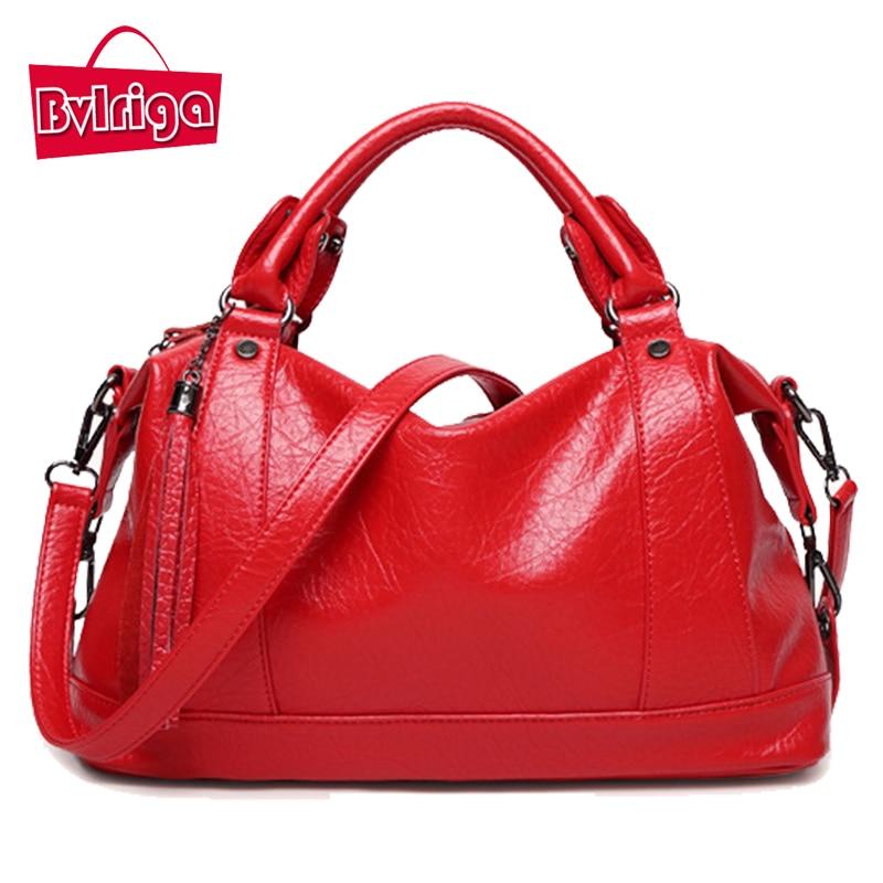 ФОТО BVLRIGA New Boston women bag Tassel women leather bag famous brand Litchi women messenger bag high quality handbags dollar price