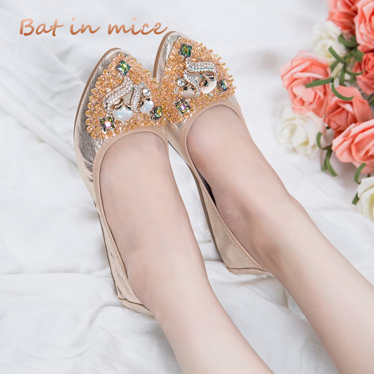 spring summer new women shoes casual shoes women flats PU cozy Breathable mother Ballet dancing shoes plus size 35-40 S083 gold sliver shoes woman for 2016 new spring glitter bling pointed toe flats women shoes for summer size plus 35 40 xwd1841