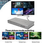 4X1 HDMI Multi-viewer HDMI Quad Screen Real Time Multiviewer with HDMI seamless Switcher function full 1080P&3D