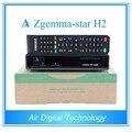 2 unids Zgemma estrellas H2 sintonizador de DVB-S2 receptor de satélite digital set top box combo + DVB-T2/C
