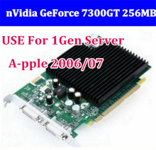New Original High Quality for Mac Pro nVidia GeForce 7300GT 256MB MacPro Video Card 1st gen video card have 8800gt цена 2017