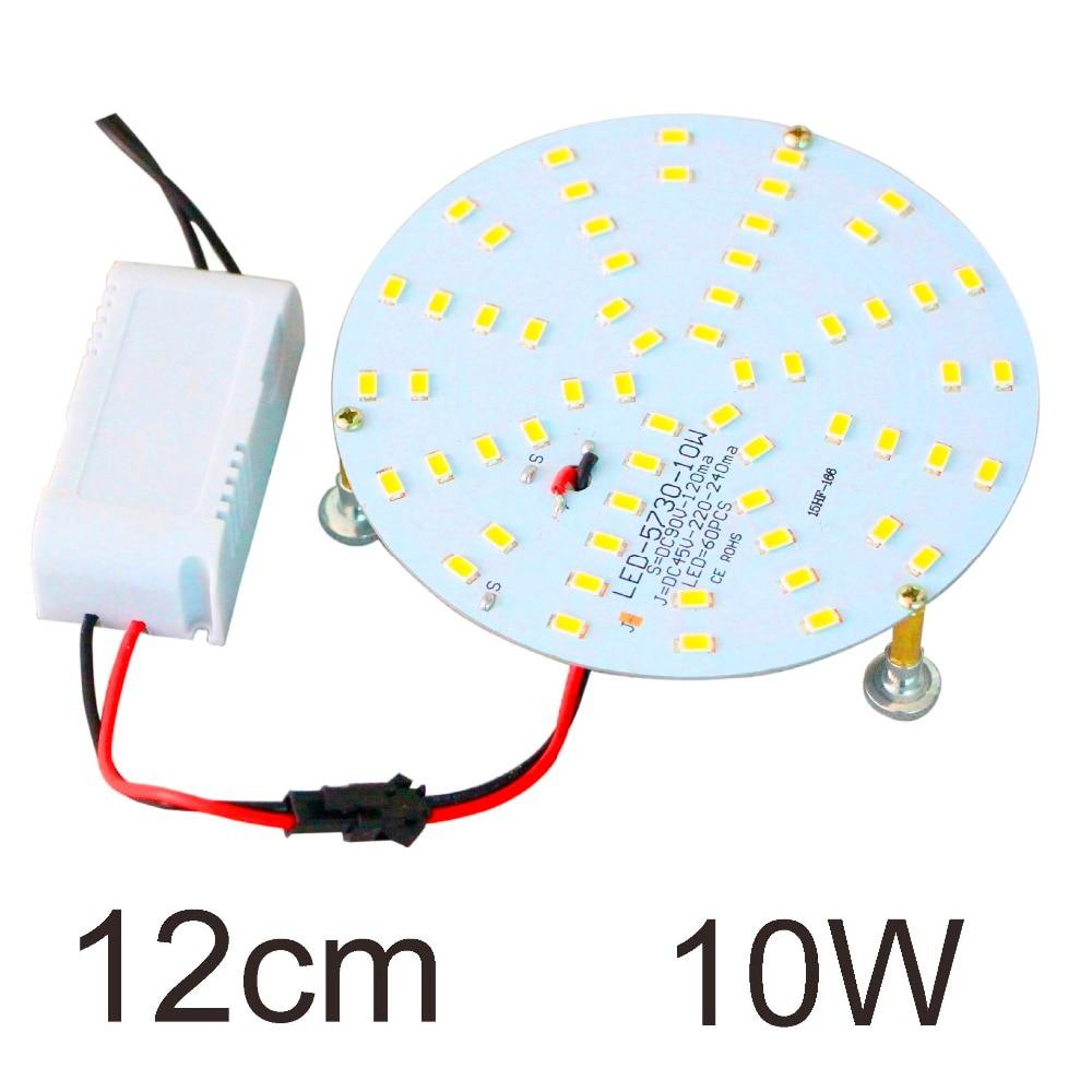 SMD 5730 Chandelier Ceiling light Panel Circular Board Retrofit Plate 6500K LED