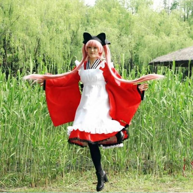 Gugure! Kokkuri-san tama cosplay costumes maid dresses Japanese anime  Gugure! Kokkuri-san clothing Halloween costumes