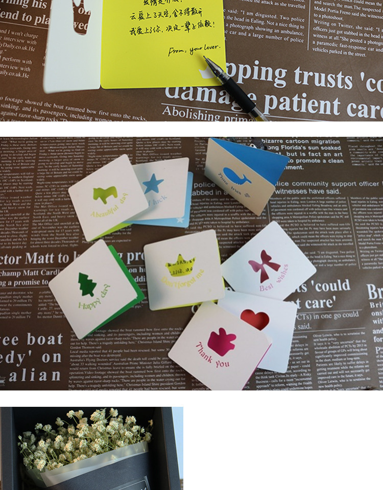 Unique Design Custom Business Cards Printing Debossed/Letterpressed  1000pcs A Lot