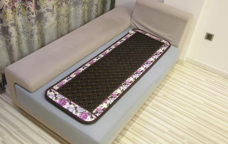 Hot Sale thermal tourmaline stone mattress, single mattress with heating 50X150cm free shipping seek thermal