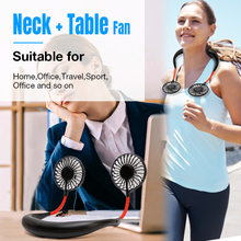 Portable Hanging Neck Sport Fan