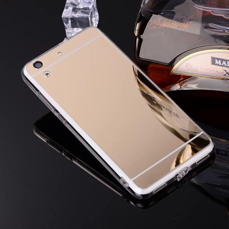 For Huawei Y6 2 / Huawei Y6 II Case Luxury Mirror Case Soft TPU Cover Case For Huawei Y5II Y3II P10 P20 Lite Back Cover Shell