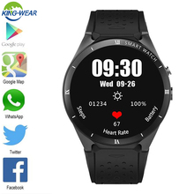 KW88 Pro smart watch ram 1GB + ROM 16GB support Bluetooth4.0 WiFi/3G/GPS OS Android 7.0 2.0MP CAMEARA Fitness Tracker Heart Rate