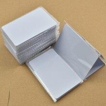 100 teile/los NFC Tag NFC 216 888 Bytes ISO14443A PVC Weiß Karten Für Android,IOS NFC Handys
