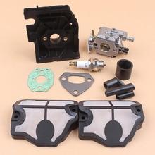 Carburetor Adaptor Air Filter Intake Manifold Gasket Kit For HUSQVARNA 136 141 LE 137 142 E 36 41 Chain Saws Spare Parts