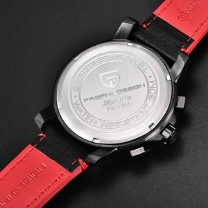Image 3 - PAGANI DESIGN Luxury Brand Mens Watch Quartz Watch Mens Leather Business Watch Luminous Depth Waterproof Design Watch
